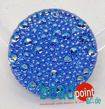 Bubble Cabochon safir hell 156 AB CAL 27mm