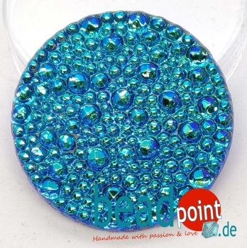 Bubble Cabochon kristall bermuda hell AB 36mm