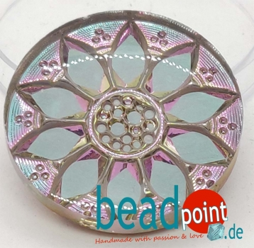 Blume Cabochon crystal HM vitrail light 31mm