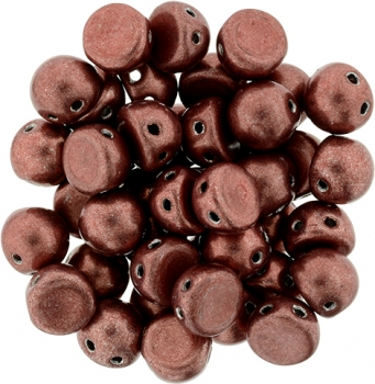 Cabochon 7mm : ColorTrends: Saturated Metallic Grenadine 20