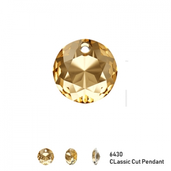 Classic Cut Pendant 6430 8mm Golden Shadow 1 Stk.