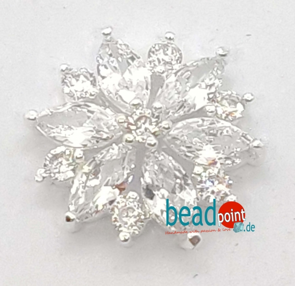 Fancy Blume silver 17mm