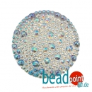 Bubble Cabochon kristall AB CAL 27mm