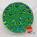 Bubble Cabochon grün 280 AB CAL 27mm